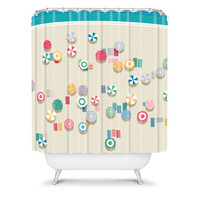 DENY Designs Home Accessories | Nicole Martinez Beach For The Birds Shower Curtain