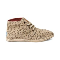 Womens TOMS Botas Snow Leopard Casual Shoe, Sand, at Journeys Shoes