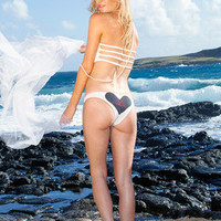 BRIDAL BIKINI BOTTOMS: Create Your Own 'Ofa Style Heart Bottoms