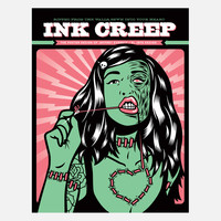 El Jefe Design: Ink Creep Poster Book
