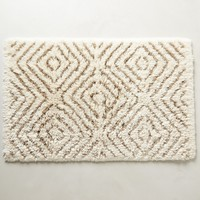 Diamond Stripe Bathmat