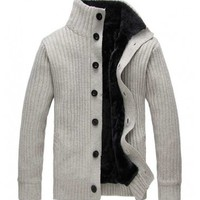 The Campbell Sweater White - leatherandcotton