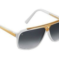 Louis Vuitton Sunglasses White Evidence Z0351W | Special Offer