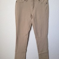 Tan Labijou Leggings Jeggings Size L