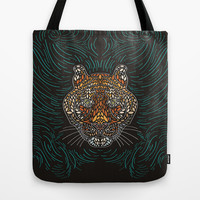 Tiger Tote Bag by Ornaart