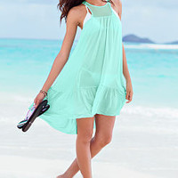 Lace-inset Cover-up Dress - Victoria's Secret