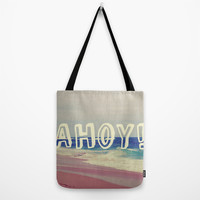 Ahoy! Tote Bag by Josrick