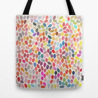 Rain 3 Tote Bag by Garima Dhawan
