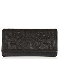 Merino Cutwork Clutch