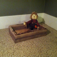 Rustic Infant Crate Photo Prop