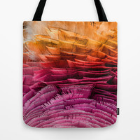 RUFFLED Tote Bag by catspaws