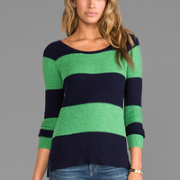 Splendid Honeycomb Sweater in Navy from REVOLVEclothing.com