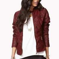 Buckled Collar Bomber Jacket