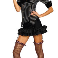 Deluxe Gangster Doll Sexy Costume - Gangster Costumes