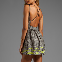 DV by Dolce Vita Hanni Highlighted Snake Dress in Multi Print