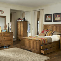 Estes Park Full Size Panel Bed