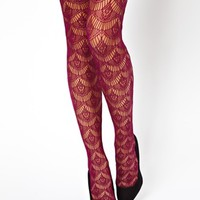 Emilio Cavallini | Emilio Cavallini Lace Net Tights at ASOS
