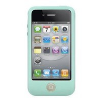 SwitchEasy Colors Pastel Silicone Case for iPhone 4 &amp; 4S - Mint