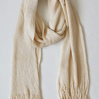 Timelessly Fashionable Scarf, Cream