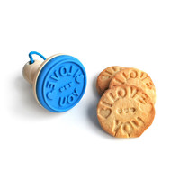 COOKIE STAMP | fun silicone baking accessories message | UncommonGoods