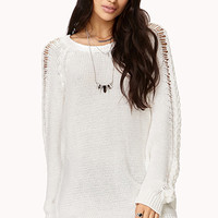 Must-Have Longline Sweater | FOREVER 21 - 2040495562