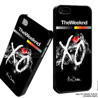 the weeknd xo Custom case For iphone 4/4s,iphone 5,Samsung Galaxy S3,Samsung Galaxy S4