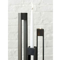 Parallel Stem Candle Pedestals | Rain Collection
