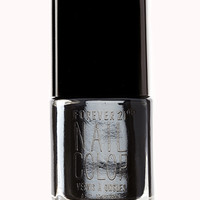 FOREVER 21 Jet Black Nail Polish Jet One