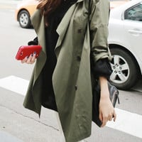 Women wide collar coat/women jacekt/trench coat/women top/women blazer/women outerwear/wide collar jacekt//women coat