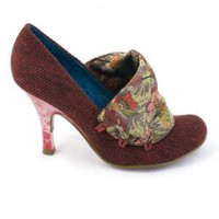 Irregular Choice | Womens | Heel | Flicker Flack (in red)