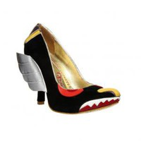 Irregular Choice | Womens | Heel | Wing Invador (in black)