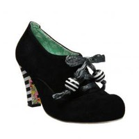 Irregular Choice | Womens | Heel | Hawk Eye (in black)