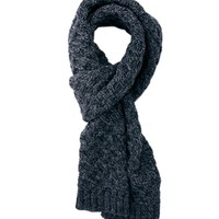 ASOS | ASOS Cable Scarf In 100% British Wool at ASOS