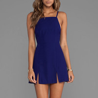 BEC&BRIDGE Willow Split Dress in Indigo from REVOLVEclothing.com