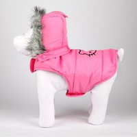 Hello Kitty Pet Puffer Vest: Pink