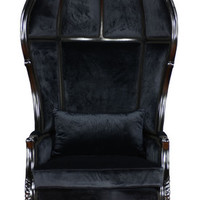 Fabulous and Baroque — Victoire Balloon Chair - Black