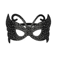 Black Rhinestone Mask - Jewelry - New In This Week  - New In
