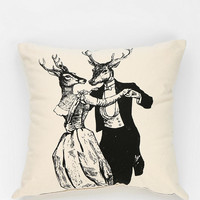 Urban Outfitters - Spitfire Girl Dancing Dear Pillow