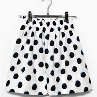 Skirt - Dots - Skirts - Women - Modekungen - Fashion Online | Clothing, Shoes & Accessories