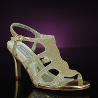 Gold prom Shoe, TOUCH UPS APHRODITE-302 Shoes for proms & proms