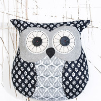 Chester Owl Cushion at Urban Outfitters