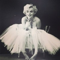 Marilyn Monroe Tutu Art Print by LuxuryLivingNYC