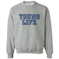 Collegiate Crew Neck