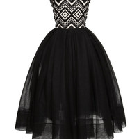 The Bejeweled Jacquard Bustier Dress by Martin Grant - Moda Operandi