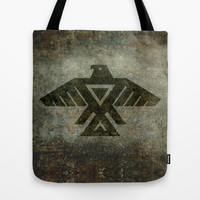 Emblem of the Anishinaabe people Tote Bag by Bruce Stanfield