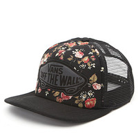 Vans Floral Beach Girl Trucker Hat at PacSun.com