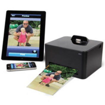 The Wireless iPhone Photo Printer - Hammacher Schlemmer