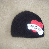Baby Tattoo Mom Hat by littlebugaboos on Etsy