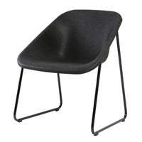 Kola light chair, black