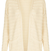 Knitted Step Hem Cardi - Knitwear - Clothing - Topshop